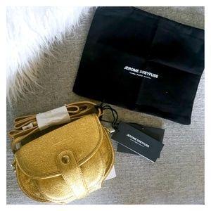 Jerome Dreyfuss Momo Metallic Leather Cross Bag